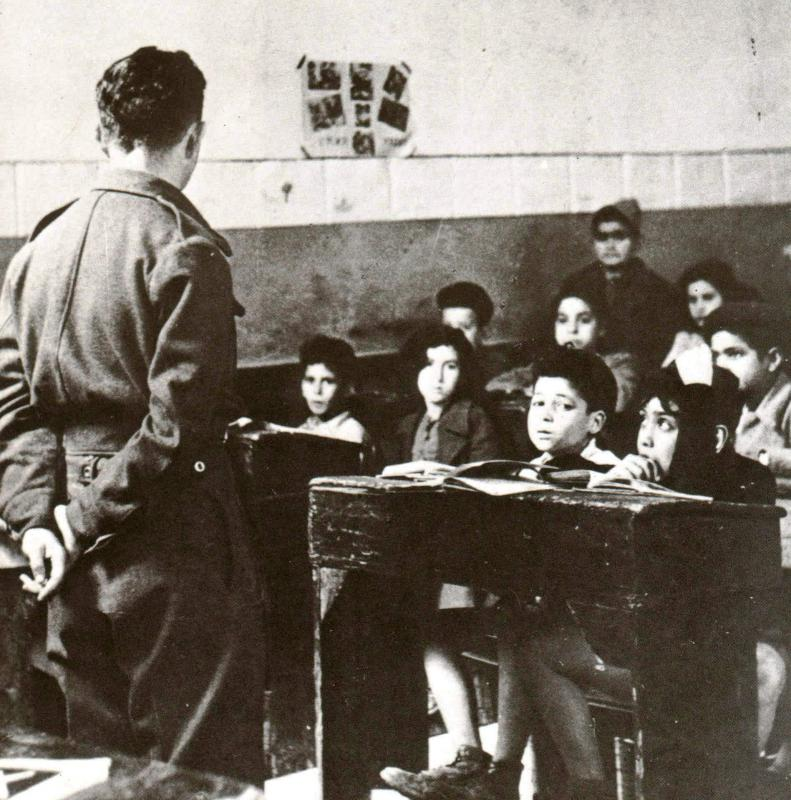 A Jewish teacher from Eretz Israel at the Hebrew School of Benghazi
