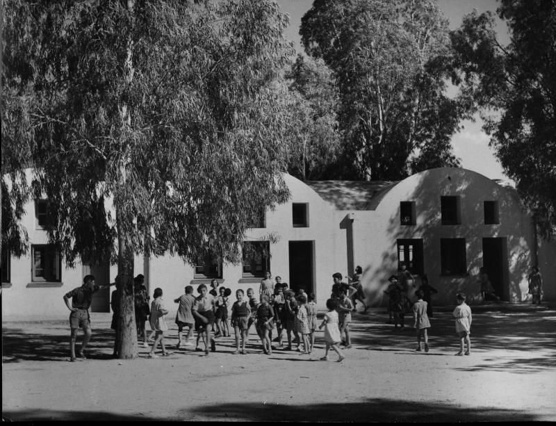 Ecole des filles, Tunisie, années 50