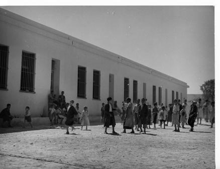 בית ספר צרפתי-ערבי, תוניסיה שנות ה-50