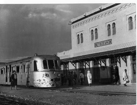 Gare de Thassur, Tunisie