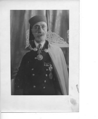 Muhammad Ali Pacha Bey (1957-1943), dernier bey de Tunisie