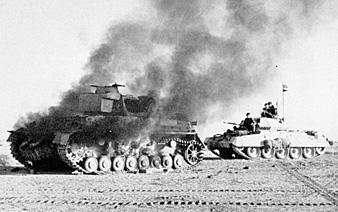 חיילים בריטים בלחימה, צפון אפריקה במלחמת העולם השנייה