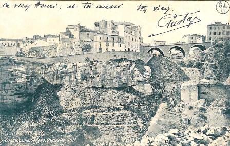 הרובע היהודי, קונסטנטין, אלג'יריה. מכון בן-צבי, באדיבות ז'ראר לוי