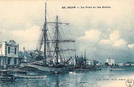 הנמל והמזח, בון, אלג'יריה. מכון בן-צבי, באדיבות ז'ראר לוי