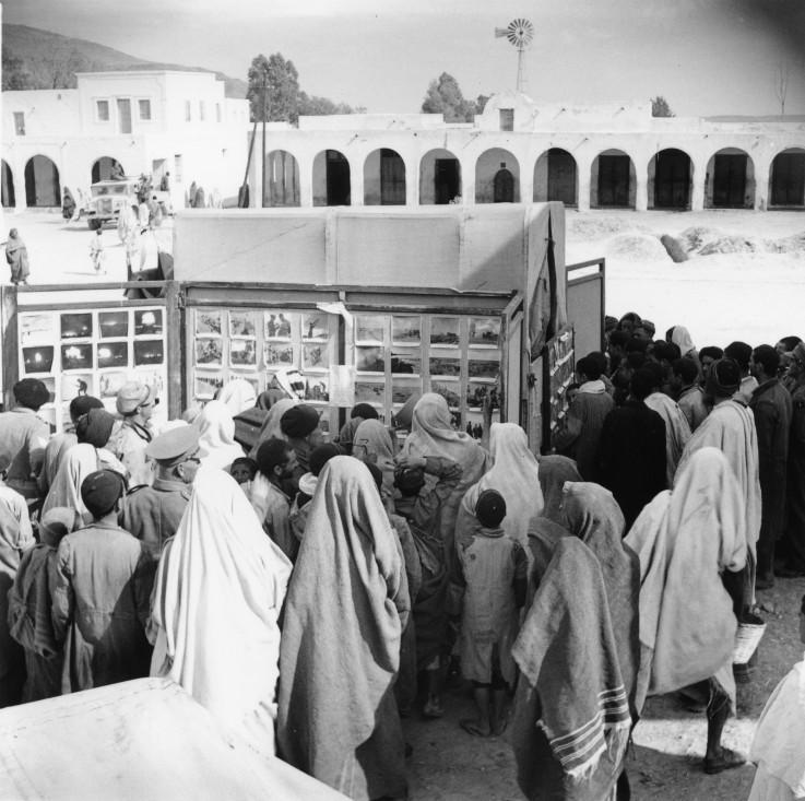 תערוכה ניידת של בעלות הברית. תוניסיה, 17.3.1943.