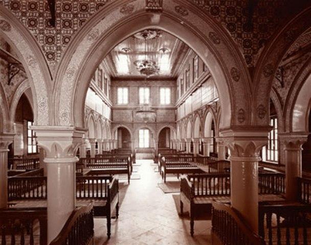 La synagogue de Djerba, Tunisie