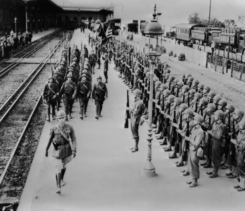 כניסת בעלות הברית לתוניס 20.5.1943