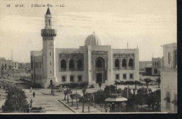 Une synagogue à Sfax, Tunisie