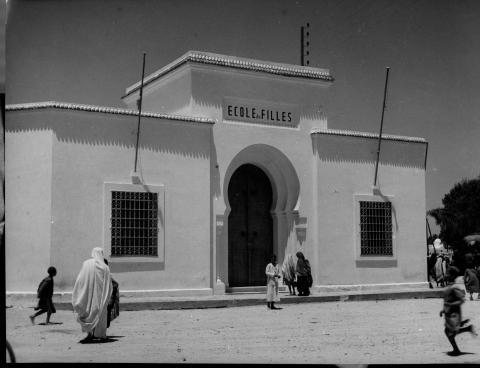"""<a href=""""/en/2823"""">Girls' school, Tunisia, 1950s</a>"""