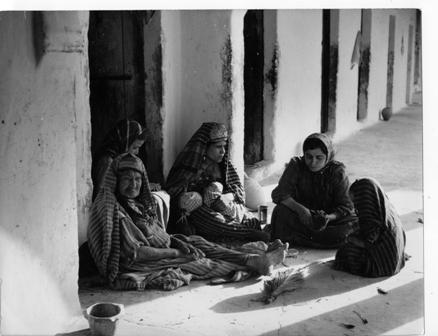"<a href=""/en/2834"">Village Women, Tunisia, 1950s</a>"