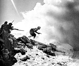 "<a href=""/en/2948"">British soldiers fighting in North Africa during World War II</a>"