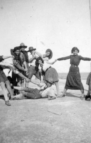 """<a href=""""/en/2931"""">Members of the Beitar youth movement, North Africa, 1940s</a>"""